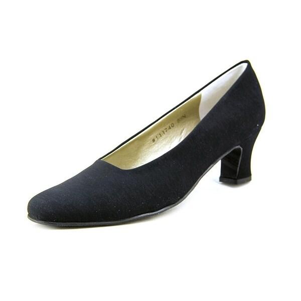 Mark Lemp By Walking Cradles Vicki Women N/S Round Toe Synthetic Black Heels
