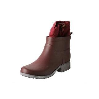 Lucky Brand Womens Rebeka Rubber Faux Fur Lined Rain Boots - 6