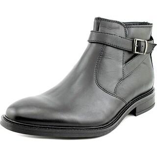 Alfani Noah Men  Round Toe Leather Brown Boot