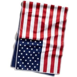 "Mission Original Microfiber Cooling Towel - 10"" x 33"" - USA Flag"