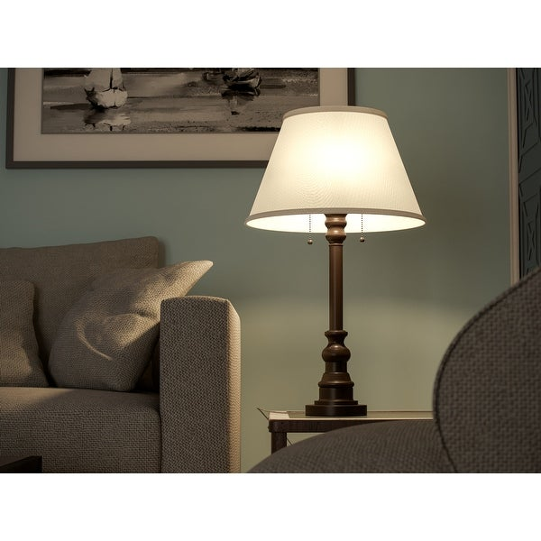 Davies 31-inch Bronze Table Lamp. Opens flyout.