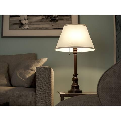 Davies 31-inch Bronze Table Lamp