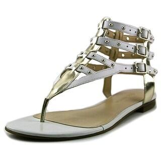 Enzo Angiolini Taraketh Open Toe Leather Gladiator Sandal