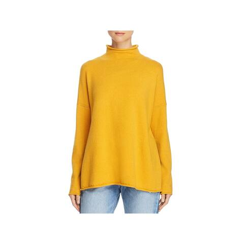 French Connection Womens Pullover Sweater Mock Neck Long Sleeve