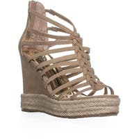 Carlos by Carlos Santana Camilla Wedge Sandals, Sand