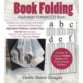 Debbi Moore Cd Rom Book Folding Patterns-Times New Roman Alpha 1A, Lower
