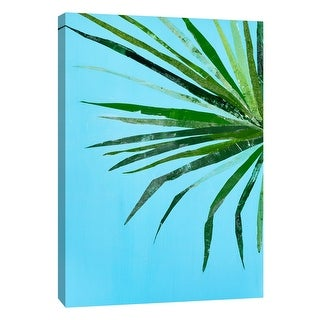 "PTM Images 9-108599  PTM Canvas Collection 10"" x 8"" - ""Summertime in Blue 1"" Giclee Leaves Art Print on Canvas"