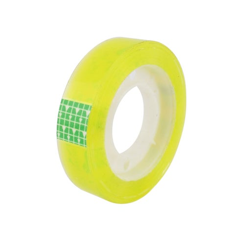 Unique Bargains Home Office School Adhesive Sticky Stationery Tape Roller Clear