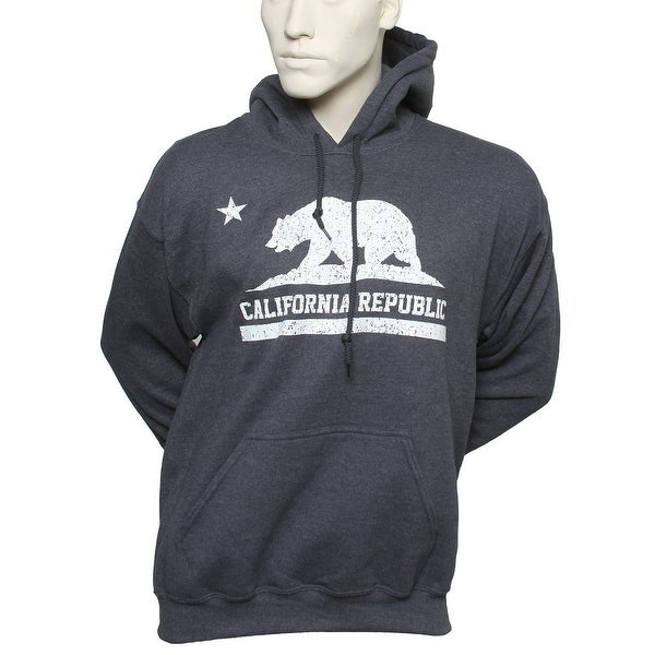 310cd7146 Shop California Republic Hooded Sweatshirt - Free Shipping On Orders Over  $45 - Overstock - 22902818