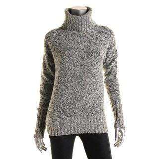Theory Womens Wyndora Wool Marled Sweater