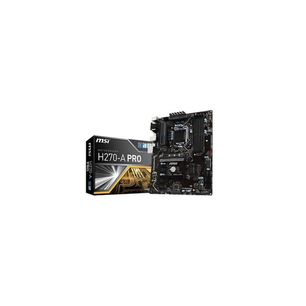 MSI H270-A PRO LGA1151Intel H270 2-Way CrossFireX SATA3 USB3.1 ATX Motherboard