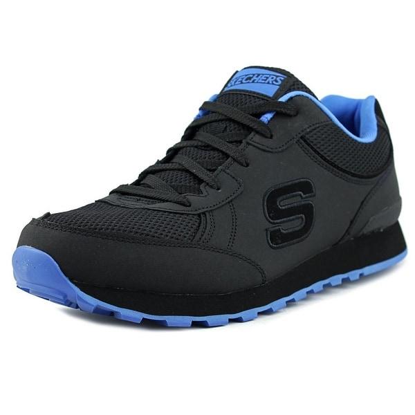 Skechers OG 85-Sirles Men Round Toe Canvas Black Running Shoe