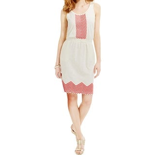 Tommy Hilfiger Womens Casual Dress Modal Embroidered