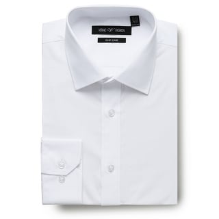 Link to Men's Regular Fit Travel Easy-Care Cotton Dress Shirt Similar Items in Shirts