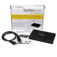 Startech S2510bmu33 Black External Hard Drive Enclosure With Uasp