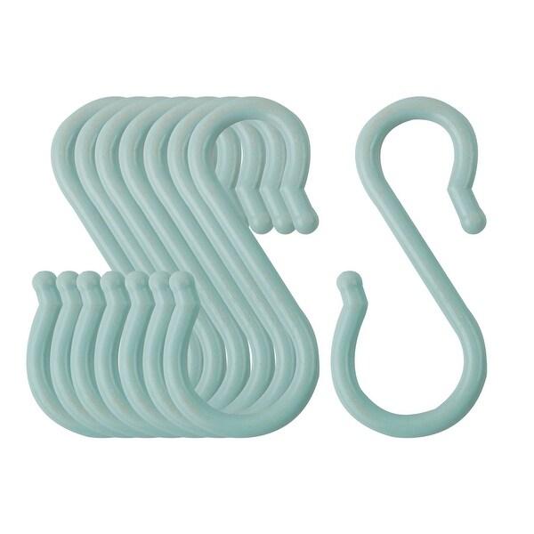 S Hook Plastic Hanging for Closet Kitchen Bathroom Utensils Coat Towel Hangers