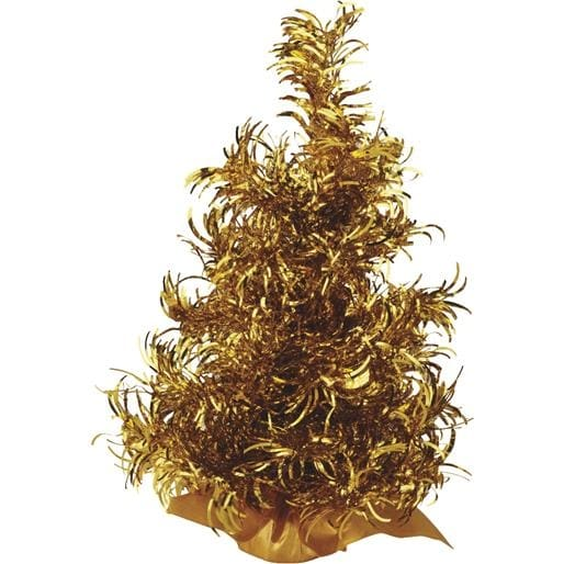 "Gerson/Yantian 12"" Gold Curly Tree 6003-12G Unit: EACH"