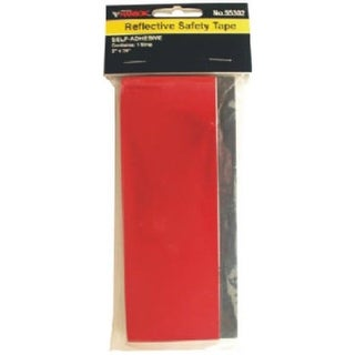 CH Hanson 55302 2 x 24 in. Red Self Adhesive Reflective Safety Tape