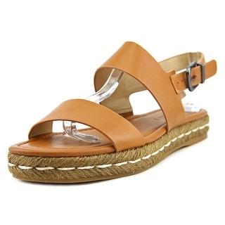 Via Spiga E1869L1250 Open-Toe Synthetic Slingback Heel