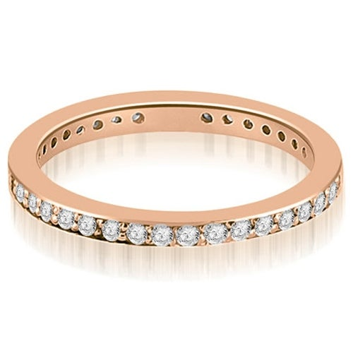 1.15 cttw. 14K Rose Gold Round Diamond Eternity Ring