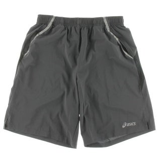 Asics Mens Contrast Trim Pull On Board Shorts - S