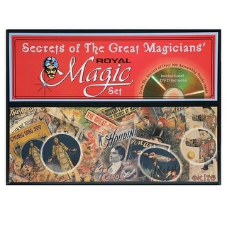 Secrets of the Great Magicians Royal Magic Set - mulicoloured