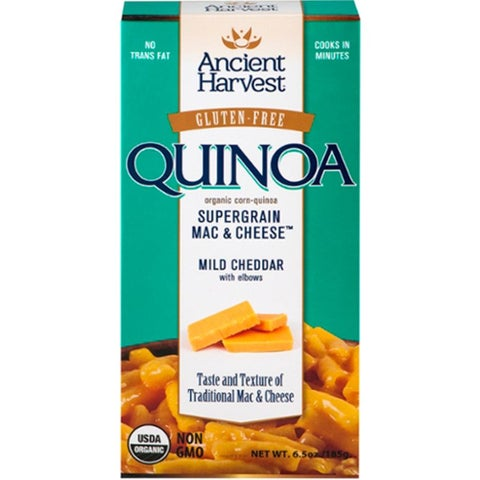 Ancient Harvest - Quinoa Mac And Cheese Mild Cheddar With Elbows ( 12 - 6.5 oz boxes)