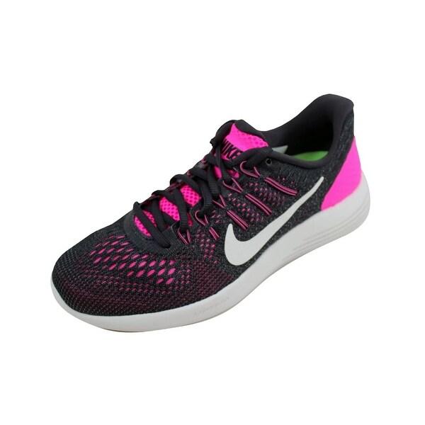 official photos 686ce a585c Nike Women  x27 s Lunarglide 8 Pink Blast Summer White 843726-601