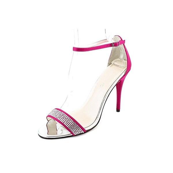 Caparros Eileen Ankle Strap Sandals - Fuchsia - 9.5