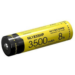 NITECORE NL1835HP 3500mAh Rechargeable Battery for High Drain Devices