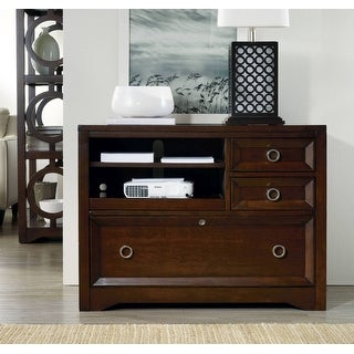 """Hooker Furniture 5066-10413  40"""" Wide Hardwood Cabinet from the Kinsey Collection - Dark Wood Stain"""