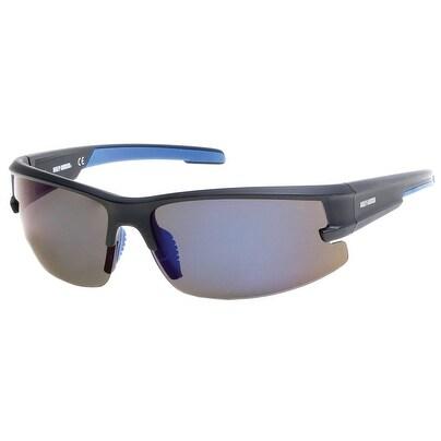 48e231a78dd Shop Harley-Davidson Men s Semi-Rimless Mirror Polarized Sunglasses ...