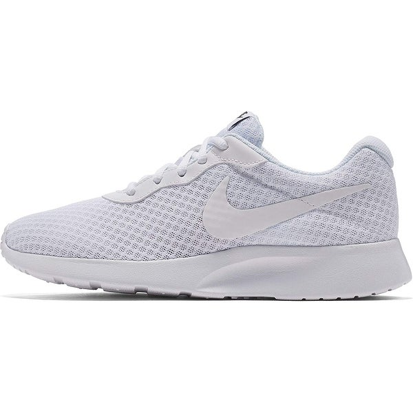 quality design 8b10c 1f671 Nike Women  x27 s Tanjun White White Black Running Shoe 7.5 Women Us