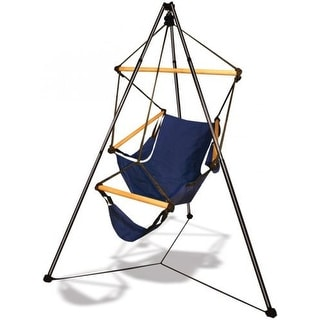 Hammaka Outdoor/Camping Hanging Cradle Chair w/ Tripod Combo - Green