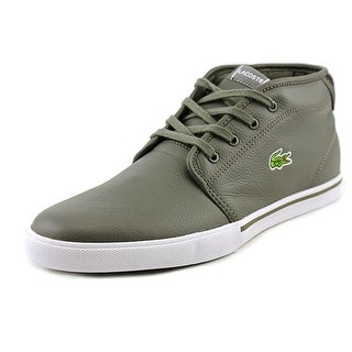 Lacoste Ampthill Lup Round Toe Leather Sneakers