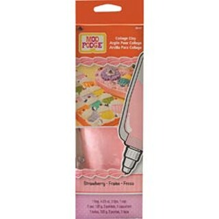 Strawberry Pink - Mod Podge Collage Clay 4.23Oz