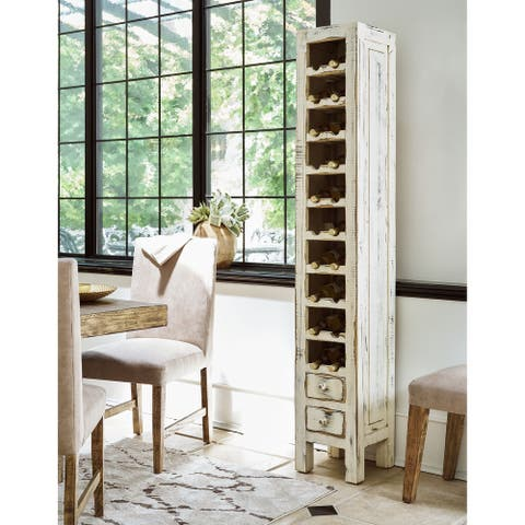 Picket House Furnishings Blaire Wine Rack in White