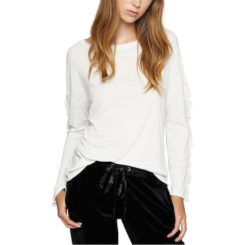 Sanctuary Clothing Womens Ruffle-Sleeve Embellished T-Shirt