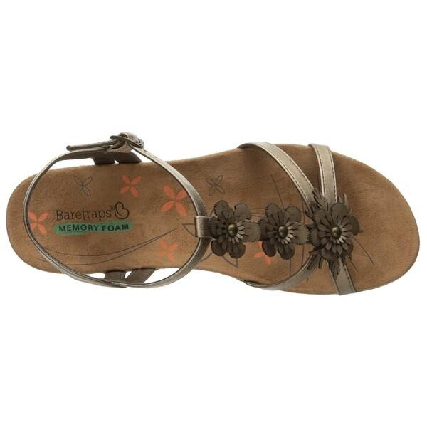 Bare Traps Womens Hammond Open Toe Casual T-Strap Sandals