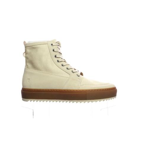 Frye Mens Rivington High White/Multi Fashion Sneaker Size 9.5
