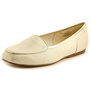 Bandolino Liberty Women Square Toe Canvas Tan Flats