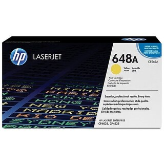 HP Yellow Original LaserJet Toner Cartridge (CE262A)