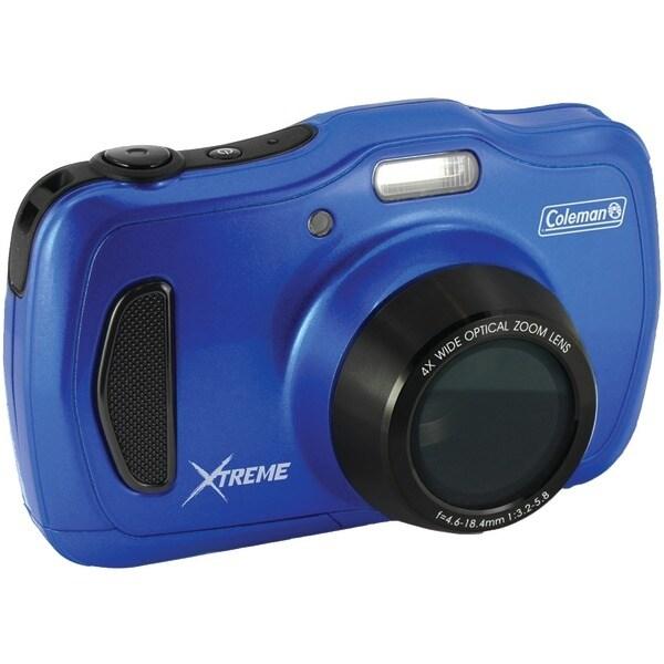 Coleman C30Wpz-Bl 20.0-Megapixel Xtreme4 Hd Waterproof Digital Video Camera (Blue)