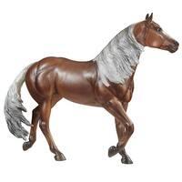 Breyer 1:9 Traditional Series Model Horse: Latigo Dun It - multi