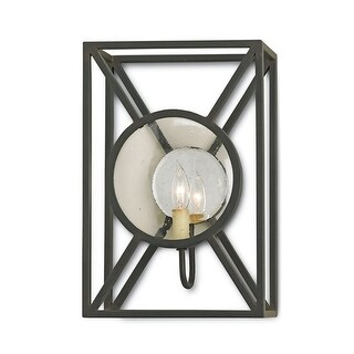 Currey and Company 5119 Beckmore 1 Light Wall Sconce - old iron