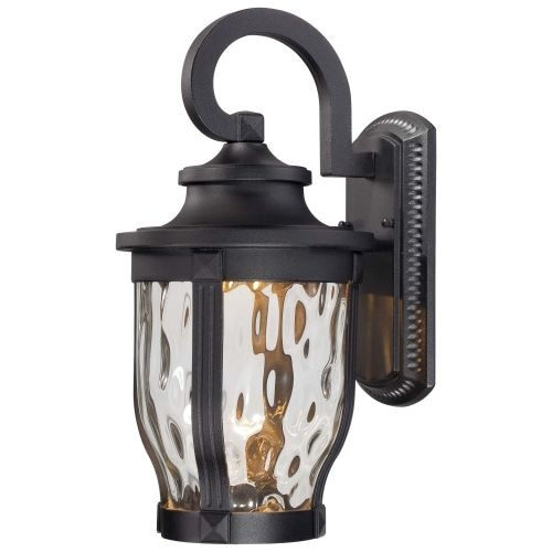 """The Great Outdoors 8762-66-L 1 Light 16.25"""" Height LED Outdoor Wall Sconce from the Merrimack Collection"""