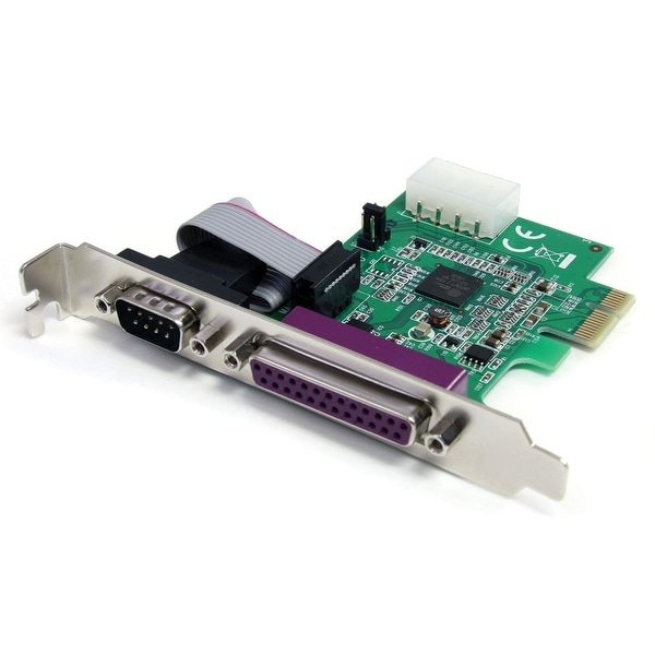 Startech Pex1s1p952 1S1p Native Pcie Parallel Serial Combo Card With 16950 Uart