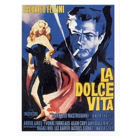 ''La Dolce Vita'' by Anon Movie & TV Posters Art Print (31.5 x 23.375 in.)