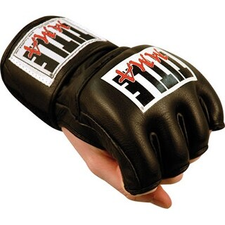 Title Boxing MMA Cage and Competition Gloves - Black