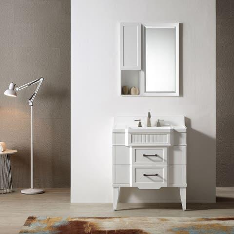 "Horizon 31"" Single Bathroom Vanity Set"